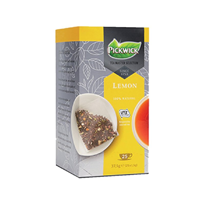 Thee Pickwick Master Selection lemon 25 zakjes van 1.5gr