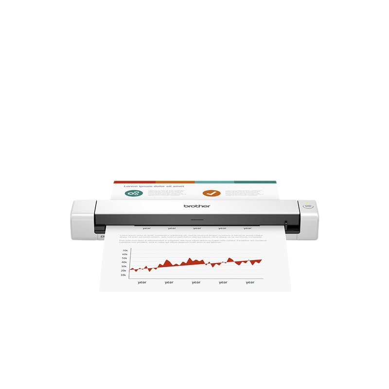 Brother DS-640 mobiele docoumentscanner